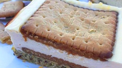 Boterkoek Cheesecake Stukje