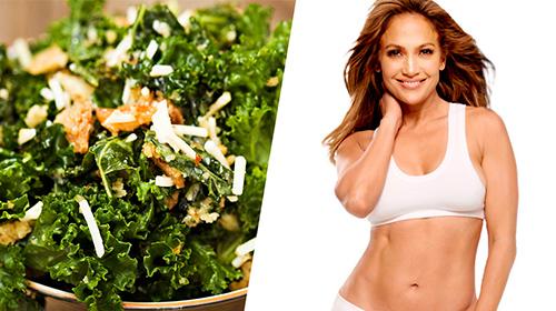 JLO's favoriete Boerenkool salade