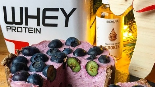 Blueberry Cheesecake met Whey